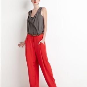 DVF Athos wide leg dress trouser